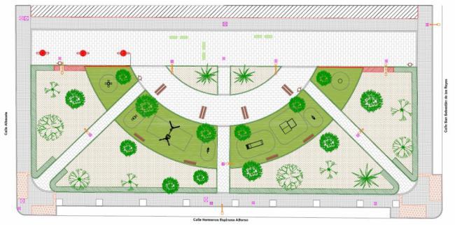 El Ayuntamiento de El Ejido aprueba remodelar tres parques