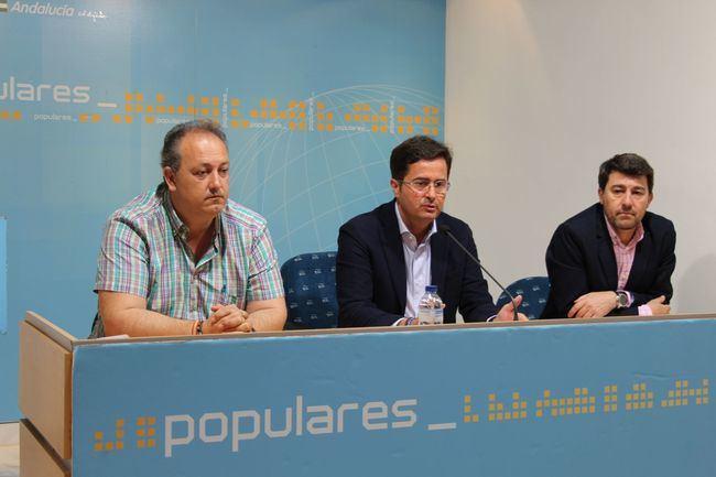 """Góngora: """"Con el Partido Popular, El Ejido va a recuperar el ritmo inversor"""""""