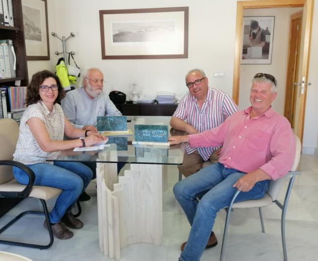 La Escuela del Mármol de Fines protagoniza un reportaje en la revista europea Naturstein Online