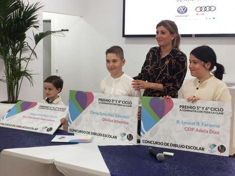 Almería 2019 premia la creación de su mascota por dibujantes infantiles
