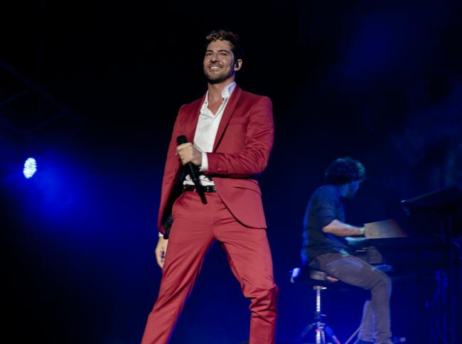 David Bisbal anuncia nuevo concierto en Almería, el próximo 20 de agosto