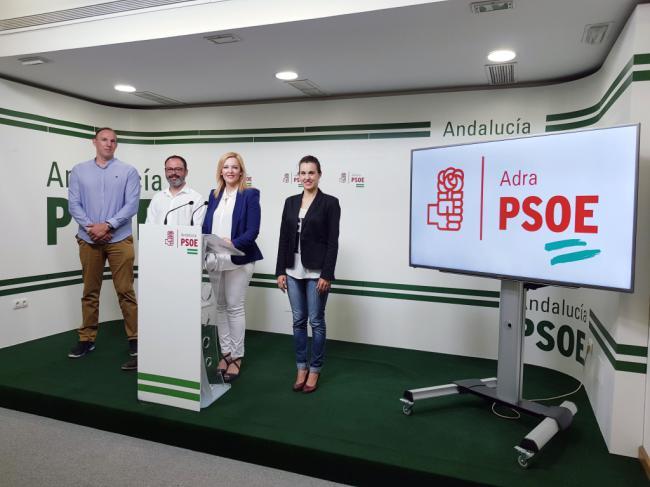 El PSOE propone atraer competiciones deportivas nacionales a Adra