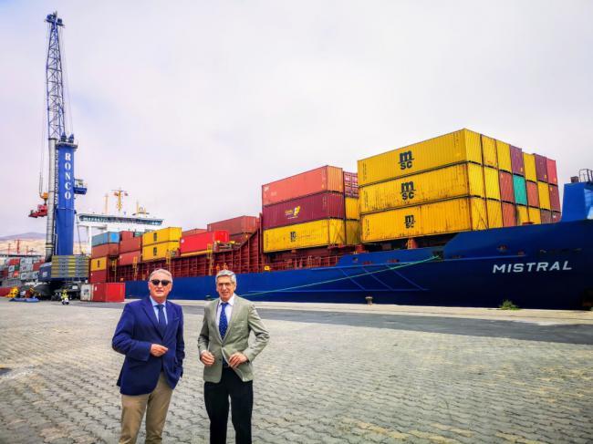 El Puerto de Almería es el que más crece de España en importación y exportación