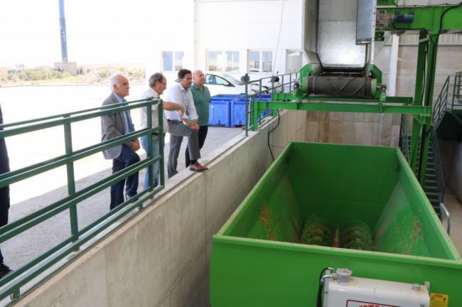 La planta de Frutilados ya está en marcha