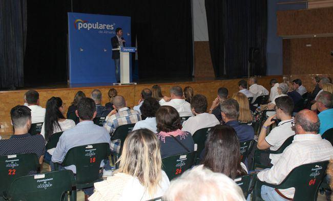 El PP anuncia en Balerma un gran complejo deportivo