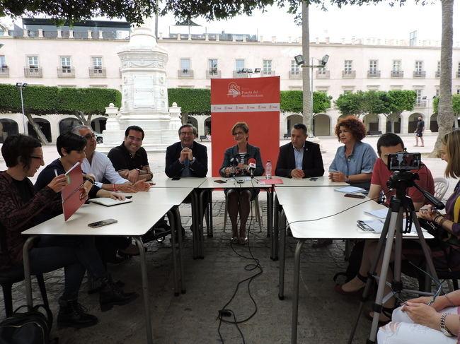 """Valverde: """"La única opción de los almerienses para cambiar las cosas es votar al PSOE"""""""