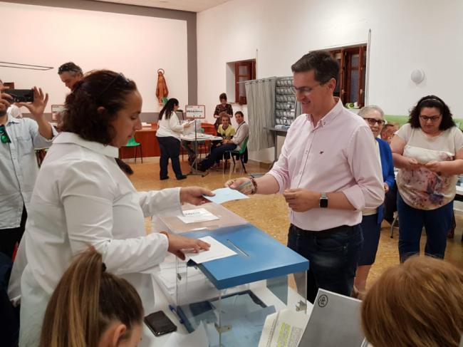 Sánchez Teruel anima a votar para que los gobiernos se elijan con la participación de una inmensa mayoría