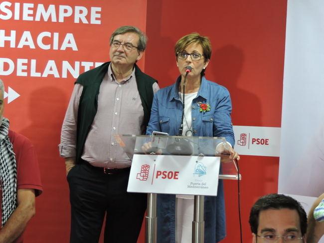 El PSOE logra menos votos en las municipales que en las europeas en la capital