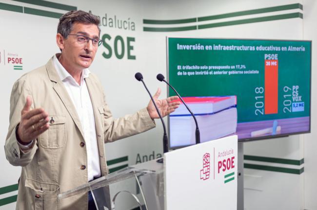 El PSOE ridiculiza los presupuestos de la Junta