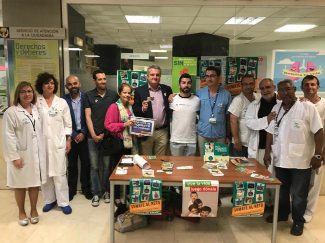Los hospitales públicos de Almería registran 17 donaciones de órganos en lo que va de año