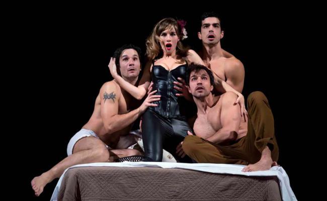 'Vooyeur', la comedia sexual que recorre España llega al Teatro Apolo