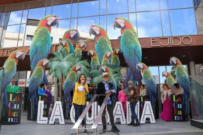 'La Cubana' regresa a El Ejido para presentar su obra 'Adiós Arturo'