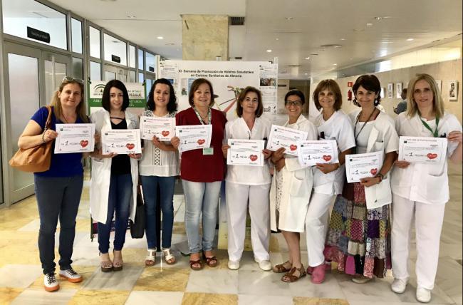 300 profesionales del Área Sanitaria Norte participan en 'Por un millón de pasos'