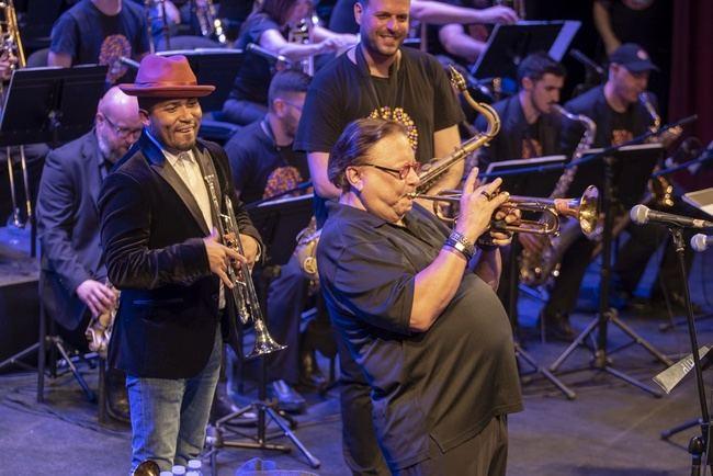 Clase magistral en Almería del trompetista Arturo Sandoval