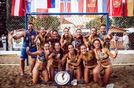 El AM Team Almería de balonmano playa conquista Europa en el EBT Finals 2019