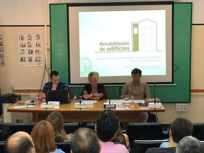 Jornada informativa para la rehabilitación de edificios y viviendas en Andalucía