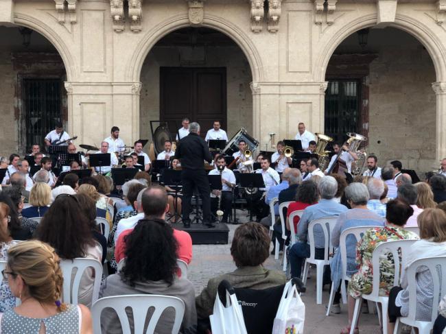 La Banda Sinfónica Municipal vuelve a actuar este jueves en la Plaza Vieja