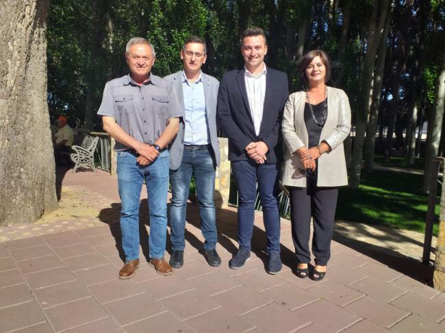 Torregrosa traslada su lealtad con la ciudadanía de Chirivel