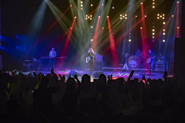 La 'leona' Miriam Rodríguez ruge ante sus seguidores en el Auditorio
