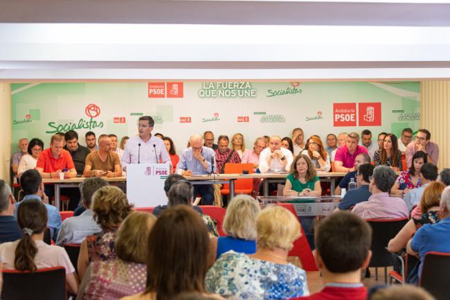 Lorenzo (PSOE) presentará candidatura a presidir Diputación