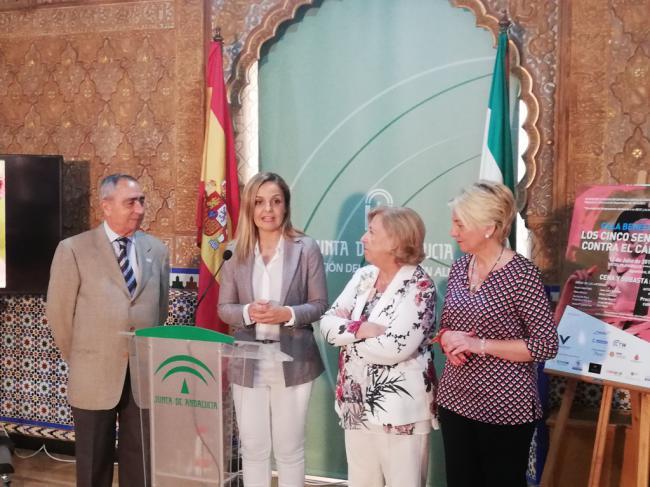 La Junta apoya a la AECC en la gala benéfica 'Los cinco sentidos contra el cáncer'