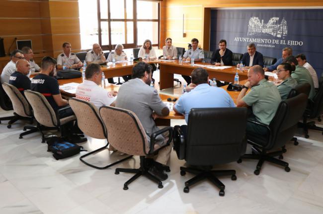 El Ejido prepara la seguridad y limpieza para San Juan