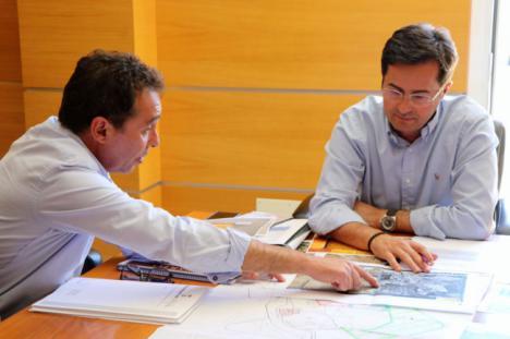 Reunión técnica para definir el proyecto de Yacimiento de Ciavieja