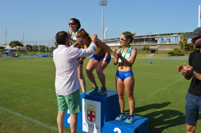 El atletismo almeriense logra 49 medallas en el Campeonato de Andalucía Máster