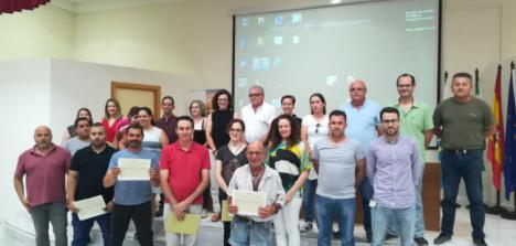 La Escuela del Mármol finaliza dos itinerarios formativos