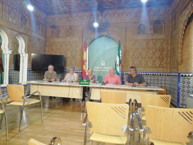 La Alcazaba dedicará su amanecer al legado poético de Alfredo Egea, Pilar Quirosa y Pepe Criado