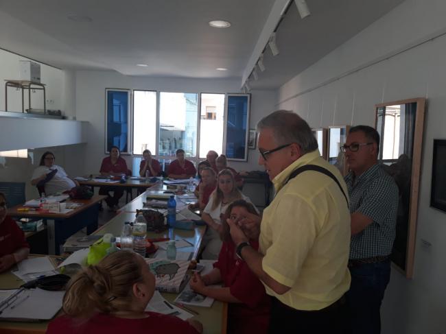 La Junta forma en atención sociosanitaria a 15 desempleados en Alhama de Almería