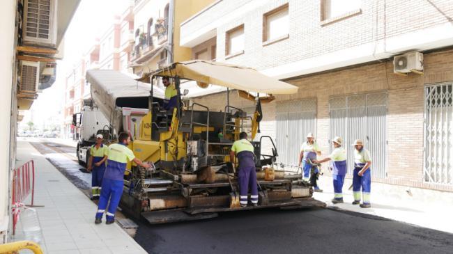 Concluyen la transformación integral en las calles Murillo y Jumilla de Adra