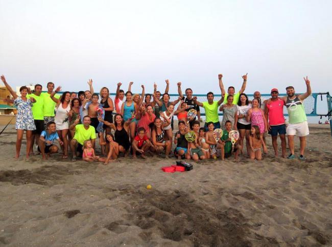 Torneo del Circuito de Andalucía de Tenis Playa en Cabo de Gata