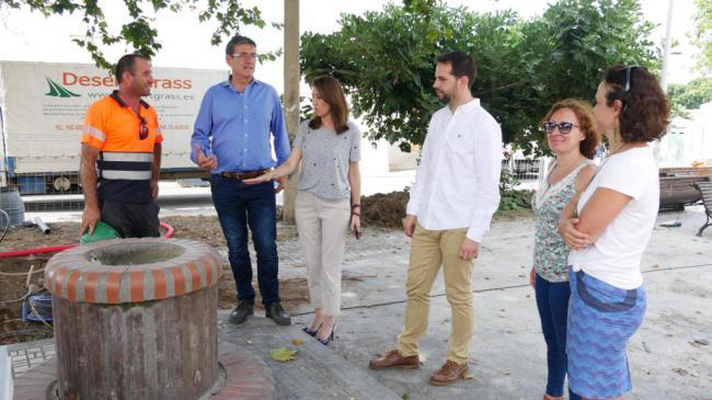 Comienzan la transformación integral del Parque Picasso de Adra
