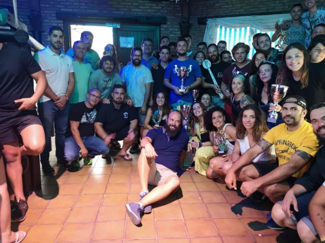 Más de un centenar de jugadores disputan en Adra el IV Torneo 'El Barco'