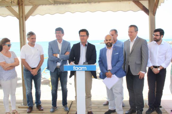 40 puntos accesibles en los doce municipios costeros de la provincia