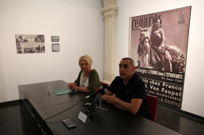 El CAF acoge la exposición 'Gerda Taro y Robert Capa en el frente de Málaga'