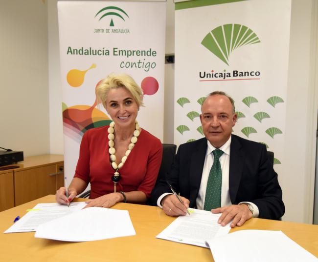 Andalucía Emprende y Unicaja Banco facilitan la financiación para emprendedores y empresas