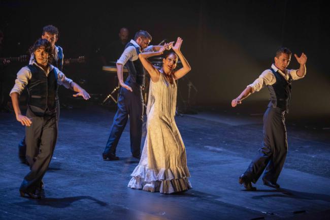 El Ballet Flamenco de Andalucía abruma en el Festival de Flamenco y Danza de Almería