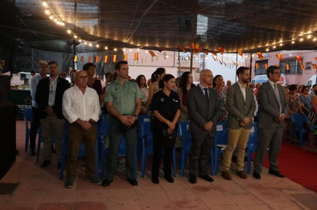 Las 80 viviendas rinden tributo a su Virgen del Carmen