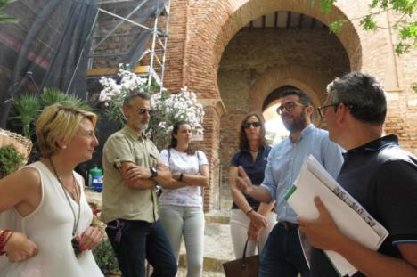La Junta inicia obras de conservación en la Muralla Sur de la Alcazaba de Almería