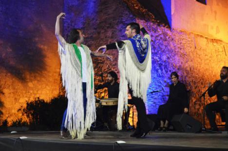 Eduardo Leal pone el broche de oro al ciclo del '3 a Compás' en la Alcazaba
