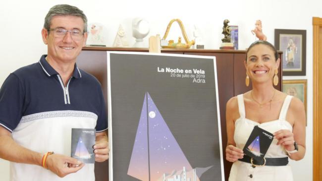 Un globo aerostático y danza vertical, grandes atractivos para la 'Noche en Vela' de Adra