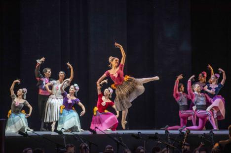El Ballet Nacional de España y la OCAL complacen al público de Almería