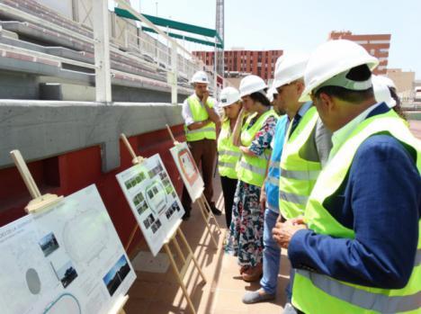 Educación y Deporte invierte casi 1,3 millones en el 'Emilio Campra' de Almería