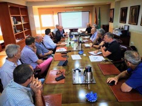 Avanza la conexiòn Almería-Francia para transporte de hortalizas en barco