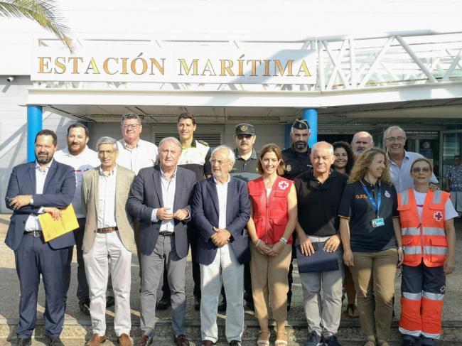El Puerto de Almería supera los 178.000 pasajeros en el ecuador de la OPE