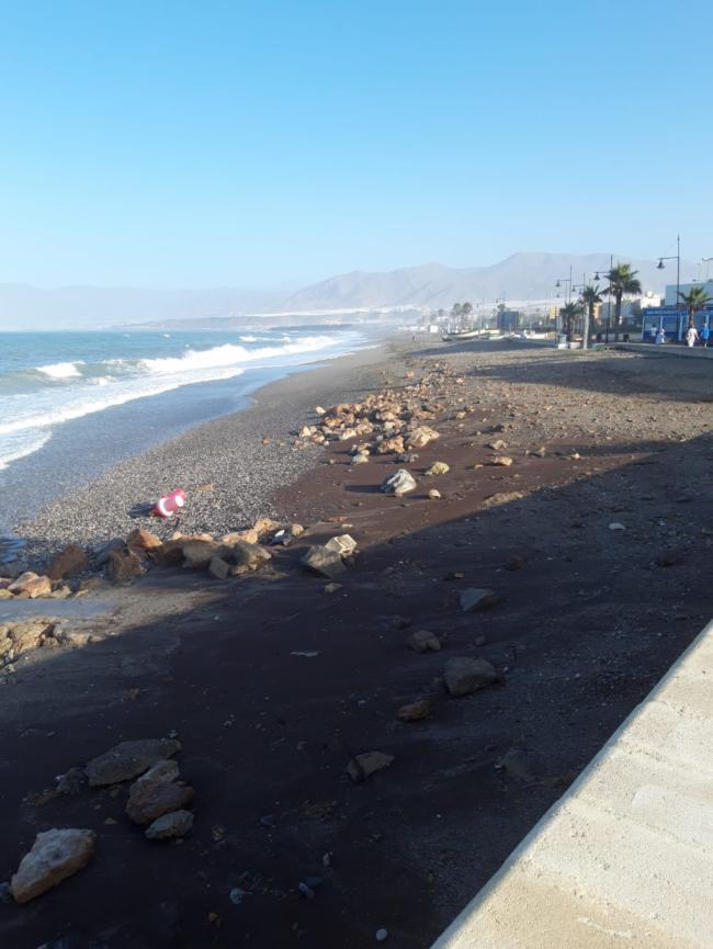 Balerma vuelve a quedarse sin playa