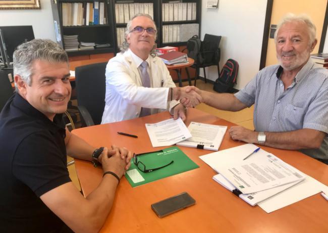 Firmada la construcción del nuevo edificio de consultas externas de Torrecárdenas