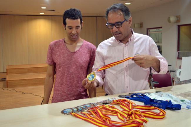 Carlos Tejada finaliza la temporada con 11 medallas en España y 7 en Andalucía